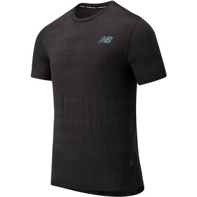 New Balance Q Speed Fuel Jacquard SS Shirt Men other black